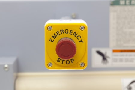 emergency stop button photo