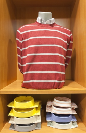 sweater and shirt on a mannequin photo