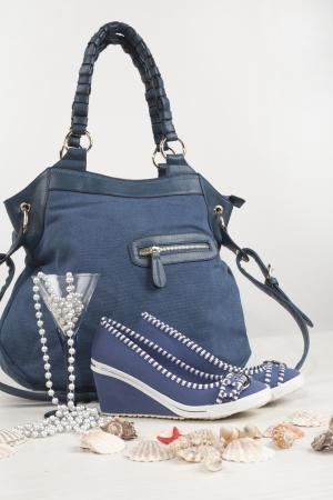 women shoes and bag