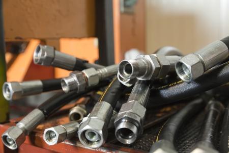 hydraulic hoses: hydraulic hoses