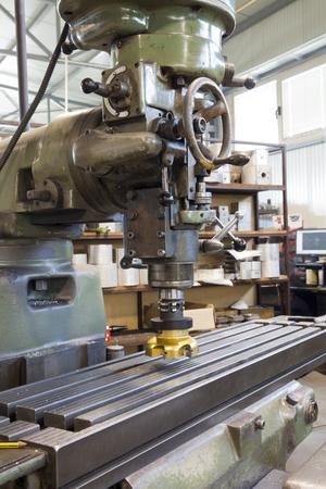 industrie: milling machine for metal industrie Stock Photo