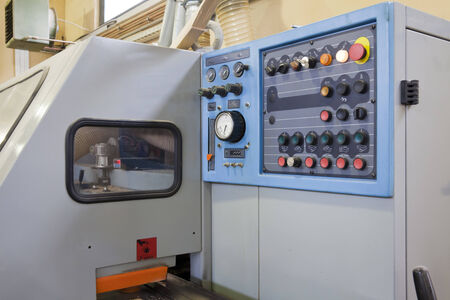 Part of machine for wood  photo