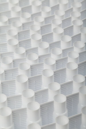 plastic texture: white plastic abstract texture background