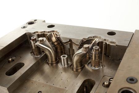 鋳造ゴム金型の一部 写真素材
