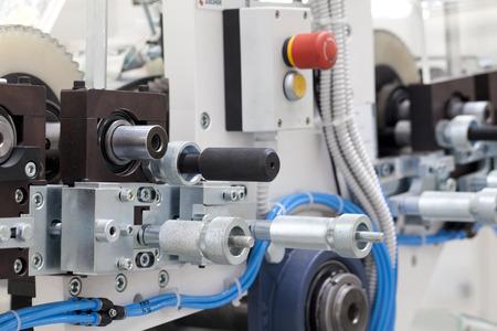 detail of roll printing machine