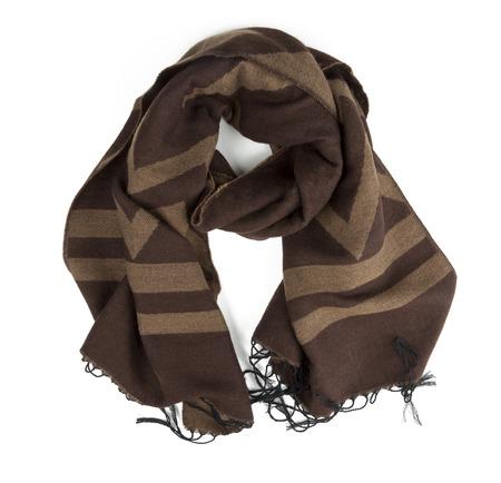 scarf isolated on white background
