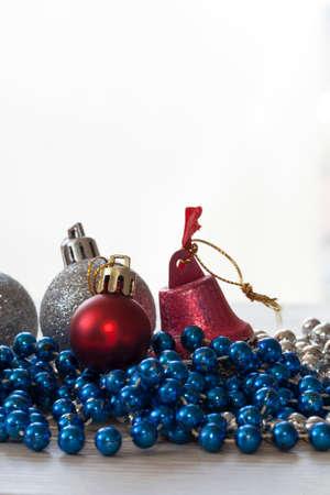 christmas background: Christmas decoration, christmas ball background