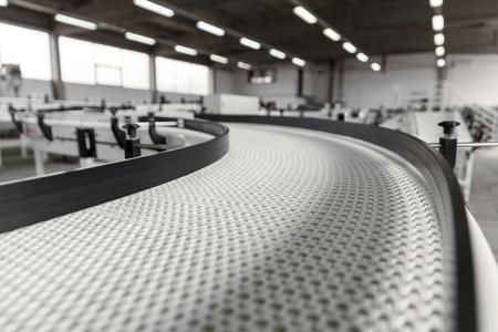 conveyer belt close up Standard-Bild