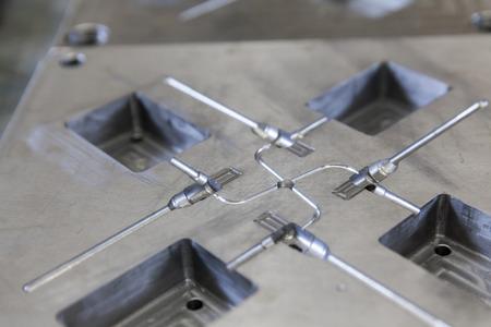 Herramienta del metal para productos de caucho moldeado Foto de archivo