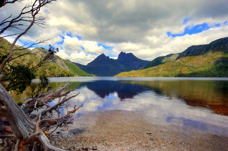 tasmania: Dove Lake at Cradle Mountain; Tasmania