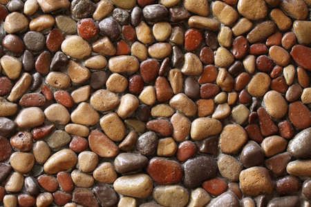 Stone wall background horizontal photo