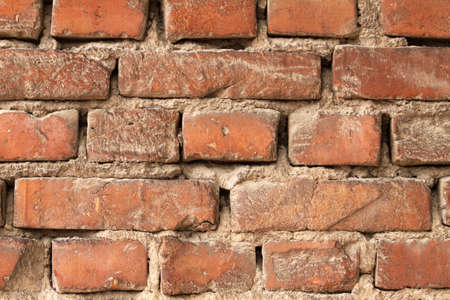 Brick wall background horizontal, stone wall texture photo