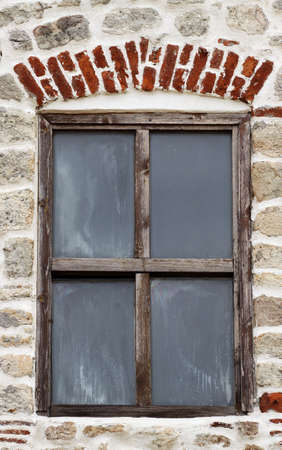 Window of the church, Sozopol, Bulgaria photo
