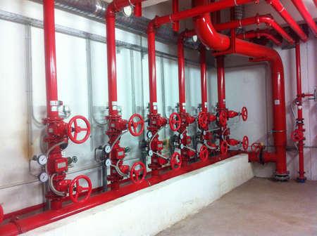 system: System gaszenia pożaru