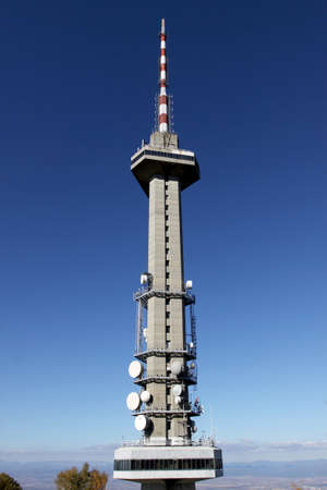 Communications Tower, Bulgaria, Sofia, Mount Vitosha photo