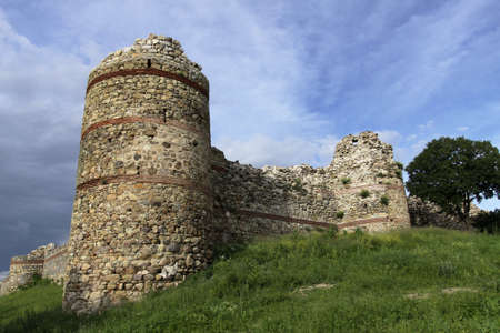 Invulnerable walls and advantageous location made fortress impregnable, location in village Mezek, Bulgaria