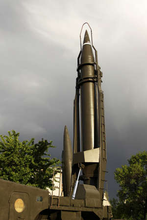 ballistic: Soviet ballistic missile of the 80-th.