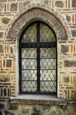 Window of the church, Sofia, Bulgaria photo