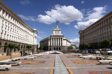 Bulgarije Nationale Vergadering, het Parlement Stockfoto
