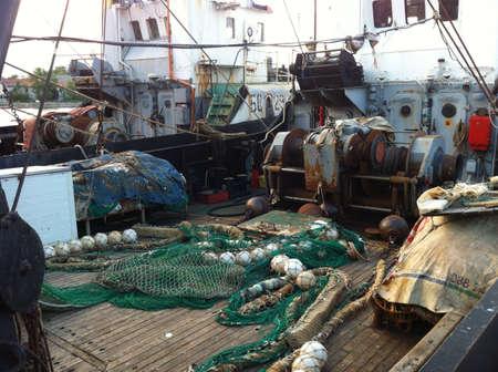 red: Barco de pesca