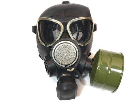 Máscara de gas del ejército ruso clásico Foto de archivo - 83348803