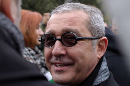 SOFIA, BULGARIA - NOVEMBER 16, 2013: Yordan Kirilov Tsonev is a Bulgarian politician, deputy chairman of the parliamentary group of the Movement for Rights and Freedoms in the 41st National Assembly. Editorial
