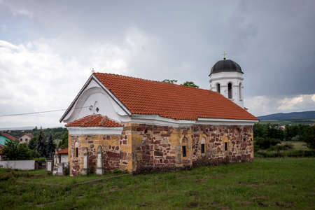 The Church of St. Nicholas the Miracle Worker in Yardzhilovtsi, Bulgaria. The church was built before the Liberation from Turkish slavery - in 1843.