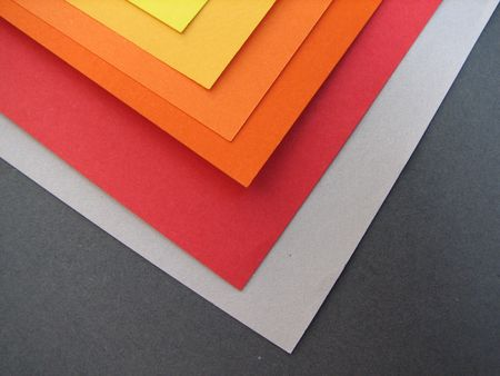 nuance: colored paper