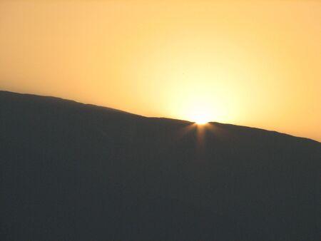 eventide: sunset
