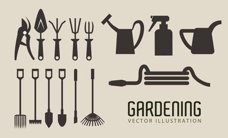 weeder: Gardening Illustration