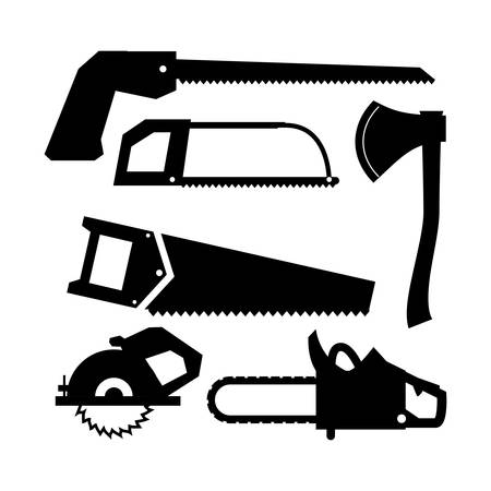Tools design over white background, vector illustration Vector