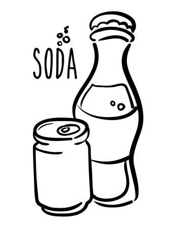 Drinks design over white background, vector illustration