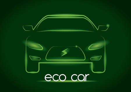 Transport design over green background, vector illustration Vector
