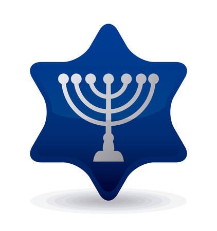 Israel design over white background, illustration