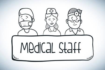 vectro: medicine design over gray background vectro illustration