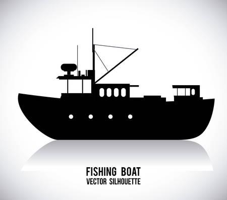 boat graphic design , illustration Vector