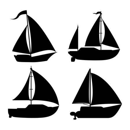 boat graphic design , illustration