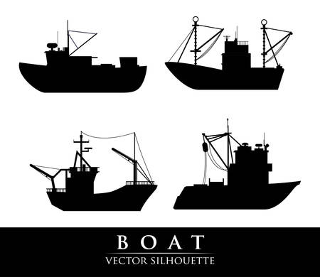 boat graphic design , illustration
