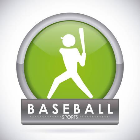 hitter: baseball graphic design , illustration