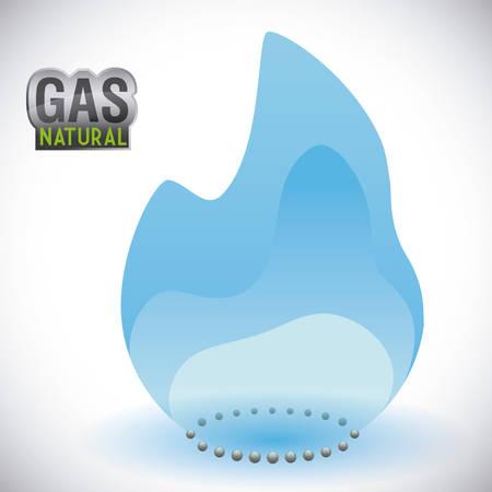 gas natural graphic design , illustration