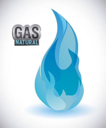 gas natural Grafikdesign, Illustration