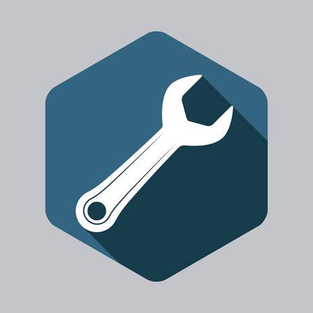 adjustable: tool graphic design , vector illustration Illustration