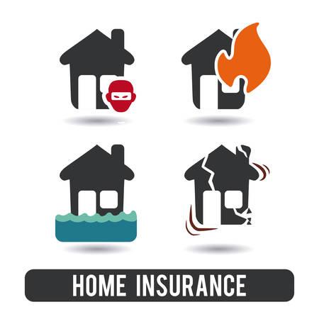 safe water: insurance graphic design , vector illustration