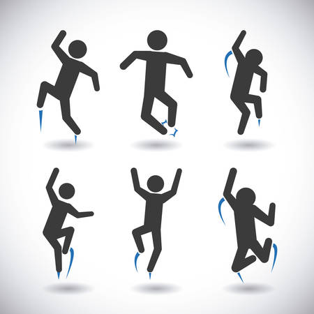 long jump: jump graphic design , vector illustration