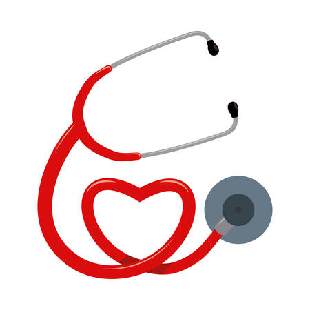 stethoscope graphic design , vector illustration Illusztráció