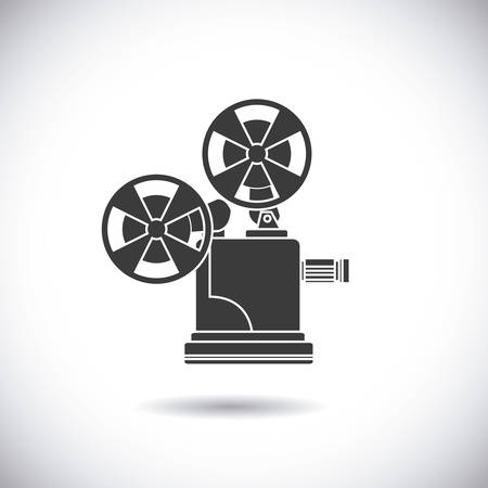 cinematograph: cinema graphic design , vector illustration Illustration