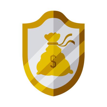 dependable: money graphic design , vector illustration