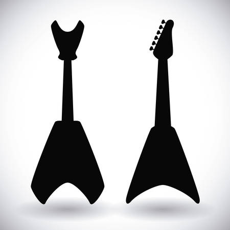 electrics: hard rock graphic design , vector illustration