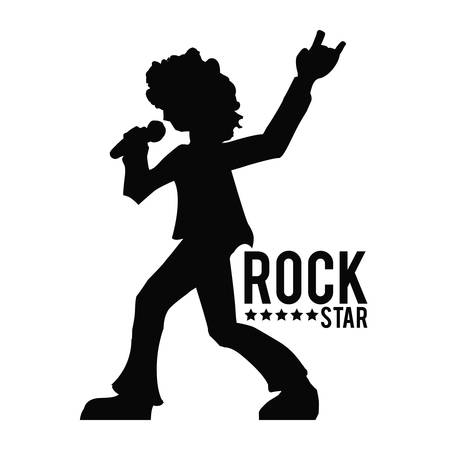 hard: hard rock graphic design , vector illustration