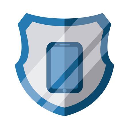 data security graphic design , vector illustration Vector